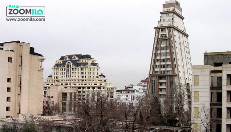 الهیه تهران ، قلب پنت هاوس های پایتخت
