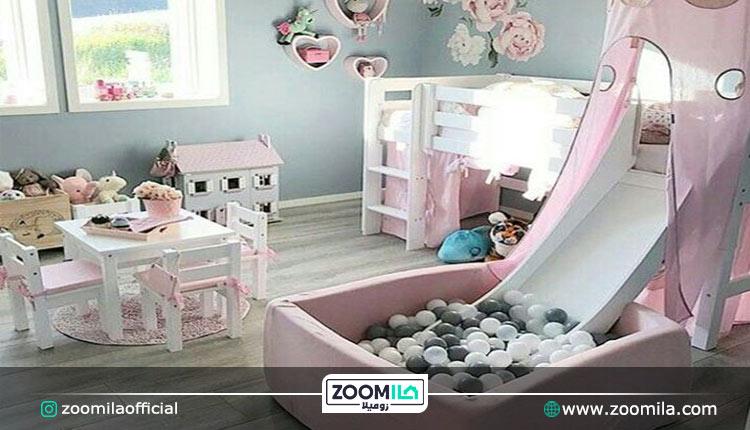سرویس اتاق خواب کودک دخترانه