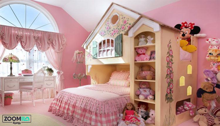 تزیین اتاق دختر