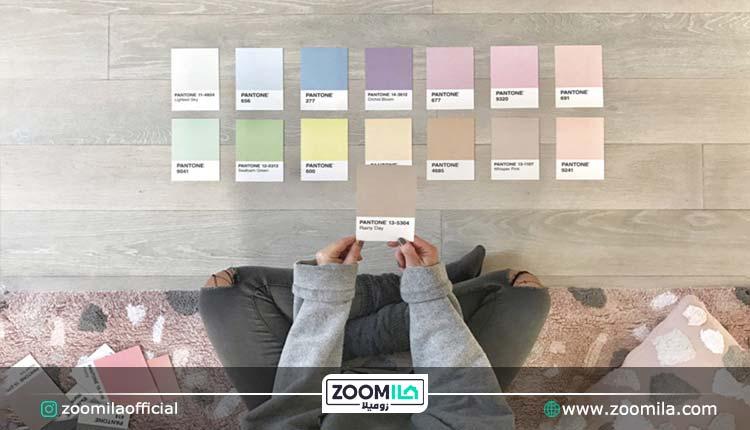 انواع رنگ پاستیلی