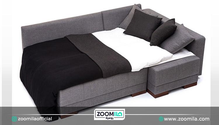 مبل راحتی تختخواب شو