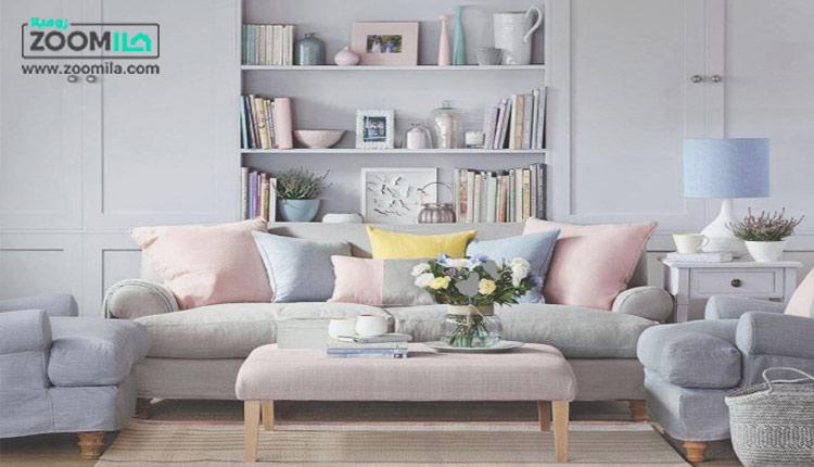 چگونگی استفاده از رنگ پاستیلی در دکوراسیون داخلی خانه - وبلاگ زومیلا