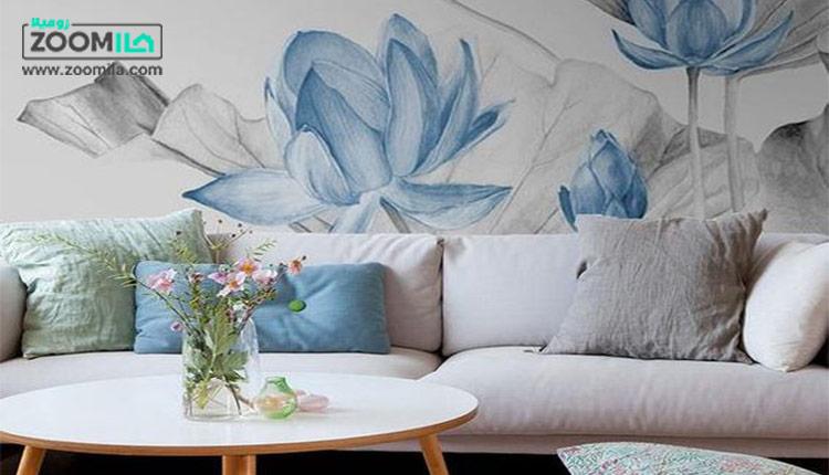 راهنمای انتخاب کاغذ دیواری در خانه کوچک