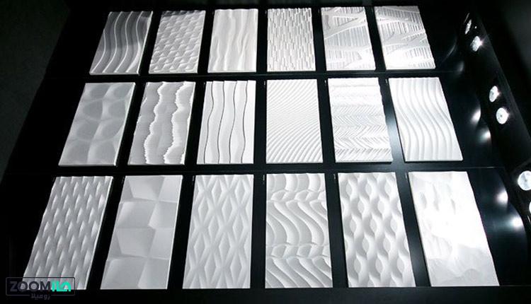 انواع دیوارپوش سه بعدی گچی