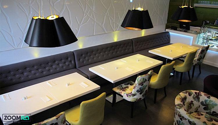 کاربرد دیوارپوش در رستوران