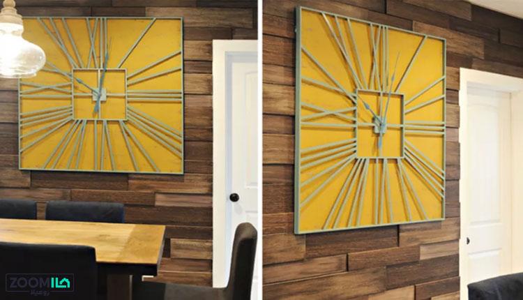 پنل سه بعدی طرح چوب