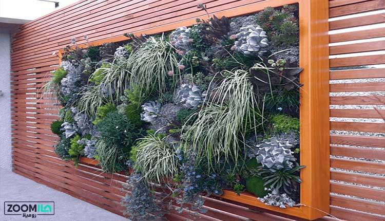 دیوار سبز مدرن