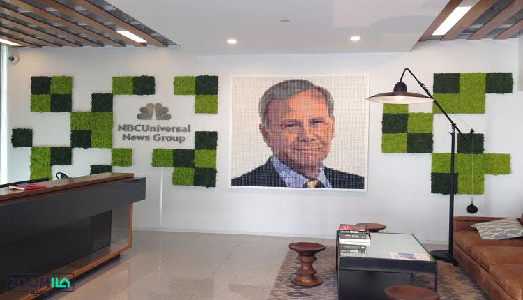 دیوار خزه ای در دکوراسیون شرکت