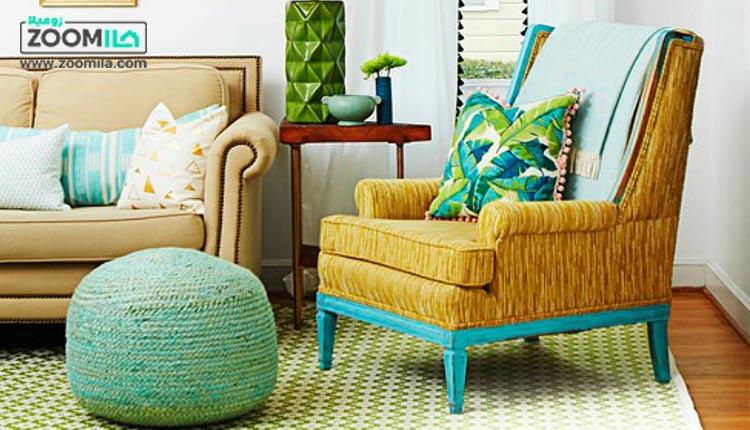 آشنایی با انواع مدل مبل پاف و کاربرد آن ها در خانه