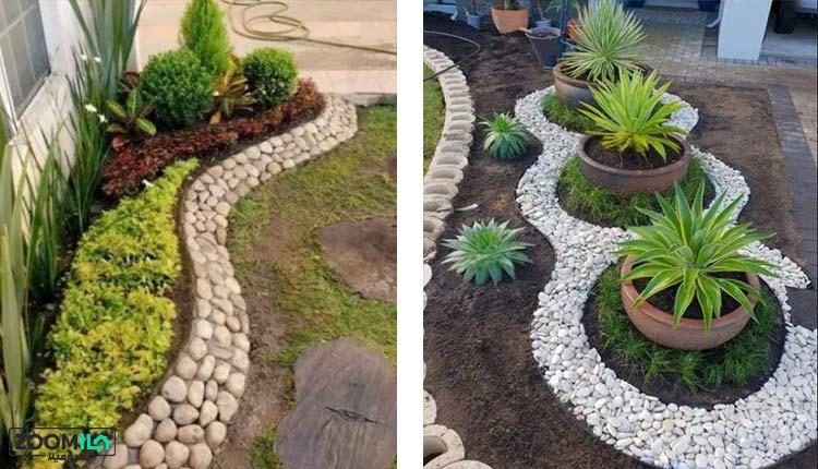 تزیین باغچه کوچک