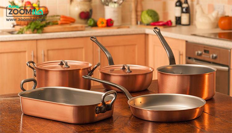 نکات مهم برای آشپزی در ظروف مسی + فواید و نگهداری
