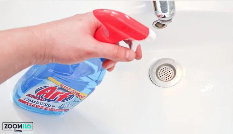 سفید کردن سینک ظرفشویی