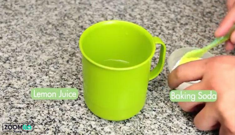 تمیز کردن سینک استیل