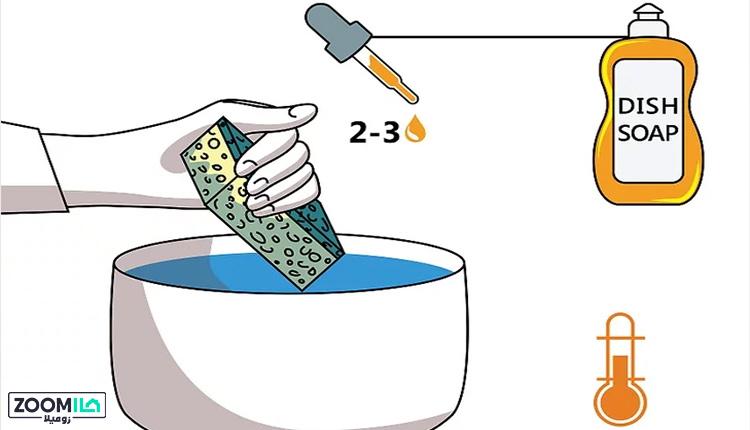تمیز کردن ظرفشویی گرانیتی