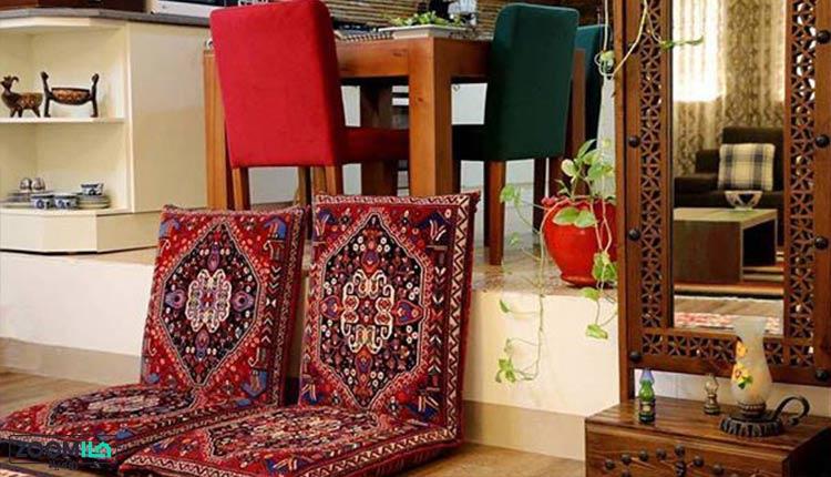 پشتی سنتی خانه ایرانی
