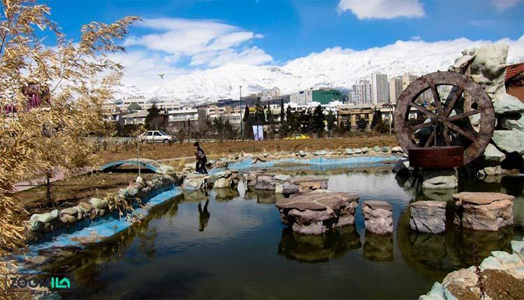محله مرزداران تهران