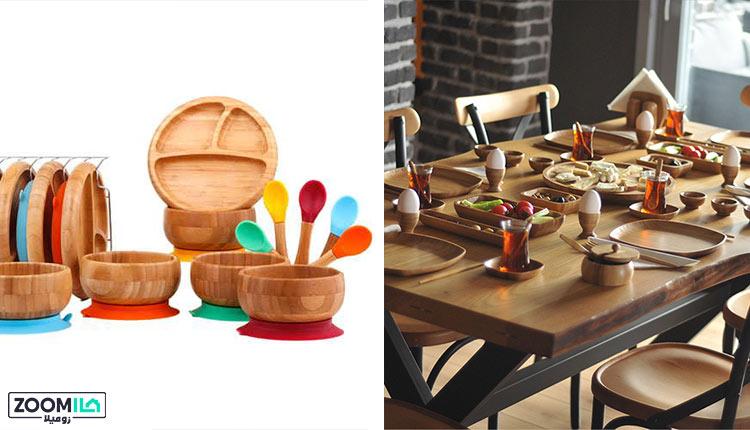 ظرف چوبی بامبو