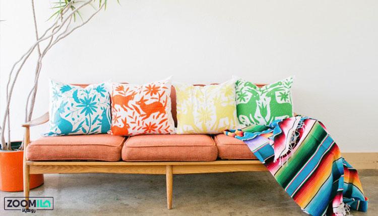 ترکیب رنگ در سبک مکزیکی