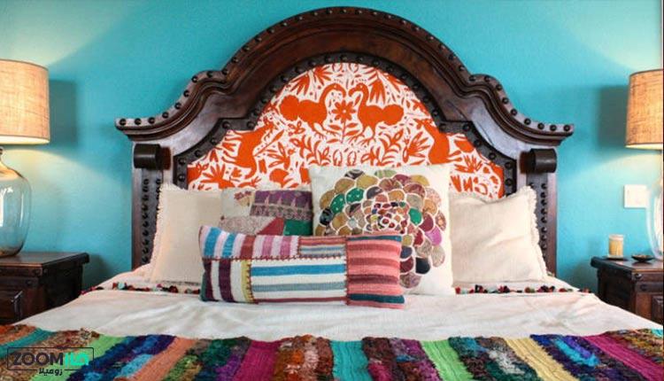سبک مکزیکی در اتاق خواب