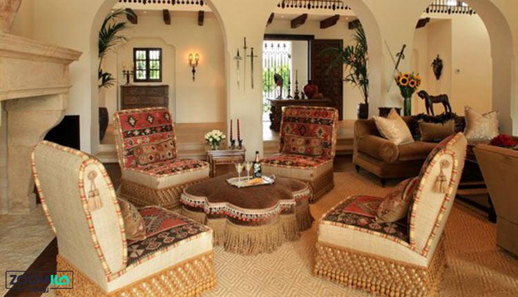 خانه مکزیکی کلاسیک
