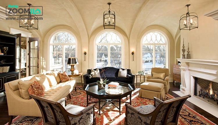 دکوراسیون داخلی خانه خود را به سبک اروپایی بچینید