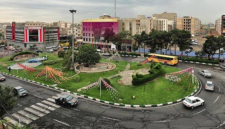 محله تهرانسر ؛ محلهای درکنار فرودگاه مهرآباد