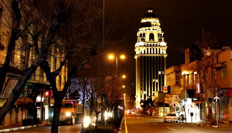 محله امانیه تهران ؛ محلهای نزدیک پارک ملت