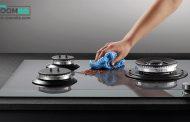 ساده ترین روش ها برای تمیز کردن اجاق گاز شیشه ای