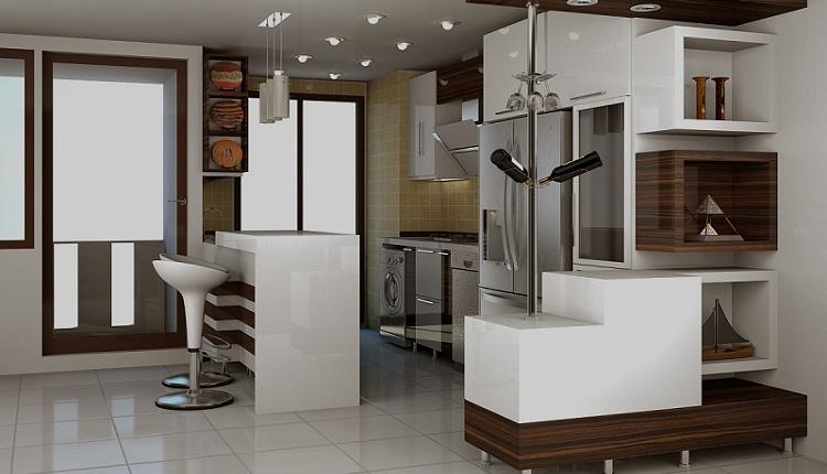 آشپزخانه مخفی در ساختمان
