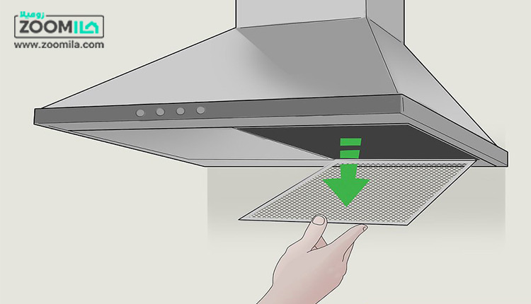 نحوه تمیز کردن فیلتر هود آشپزخانه با سادهترین روش ها