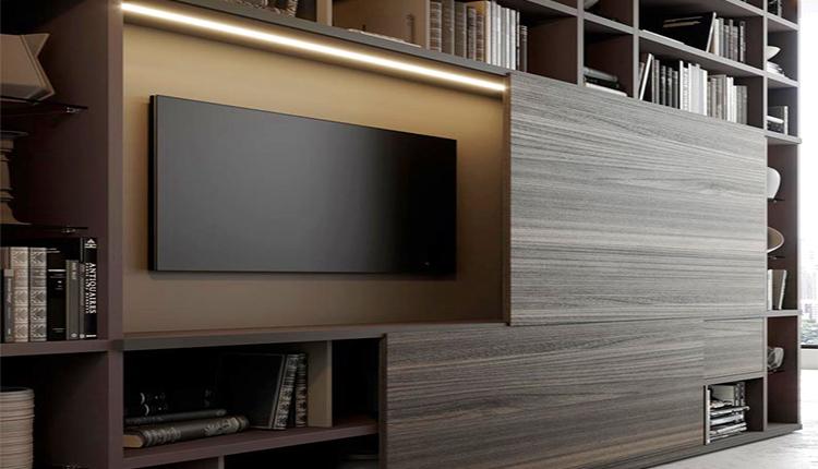 جدیدترین طراحی دیوار پشت تلویزیون مدرن